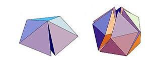 Geometrical frustration - Image: Frustration Icosaedre