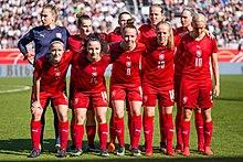 Tschechische Fussballnationalmannschaft Der Frauen Wikipedia