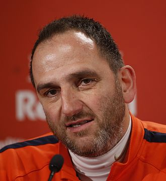 Frank Schmidt (footballer) - Image: Fußballtrainer Frank Schmidt