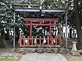 Fujiigaki Shrine in Fujisaki Hachiman Shrine.jpg