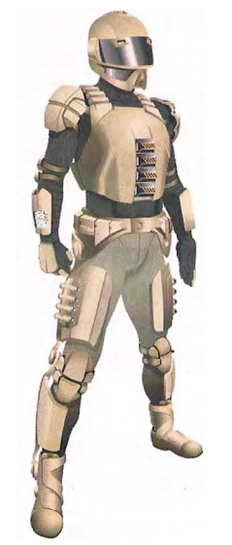 Supersoldier - Concept design for exoskeletal amplification for body armor.
