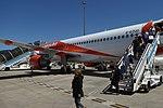 G-EZUO, A320 of EasyJet, Bilbao Airport, May 2019 (01).jpg