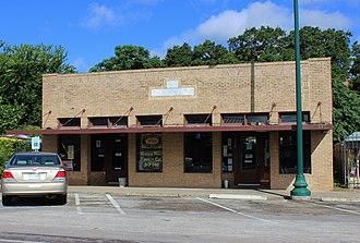 Buda, Texas - Image: G.A. Moore & Son Building 1926 Buda, Texas