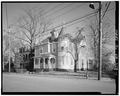 GENERAL VIEW FROM ACROSS WASHINGTON ST. - John Kinnier House, Washington and Madison Streets, Lynchburg, Lynchburg, VA HABS VA,16-LYNBU,114-1.tif