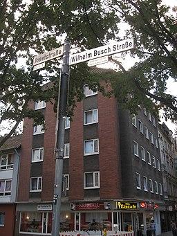 Wilhelm-Busch-Straße in Gelsenkirchen