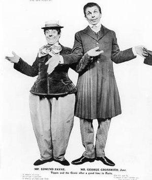 George Grossmith Jr. - Grossmith (right), with Edmund Payne in 1907