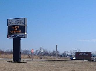 Gaffney High School - Image: GHS Outside