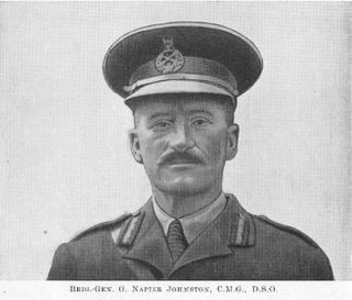 George Napier Johnston New Zealand general
