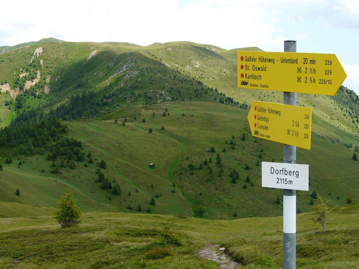 Gailtaler Höhenweg