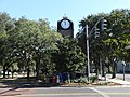 Gainesville Clock Tower (West face).JPG