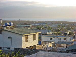 Puerto Baquerizo Moreno - Typical view of the town