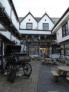 Grade I listed pub in the United Kingdom