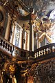 Gallery and pipe organ - Asamkirche - Munich - Germany 2017.jpg