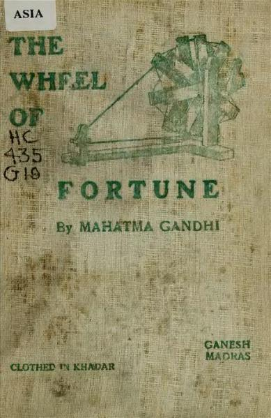 File:Gandhi - The Wheel of fortune.djvu