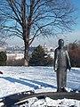 Garden of Philosophy. Statue of Jesus. - Gellért Hill, Budapest.JPG