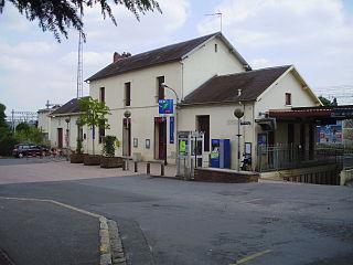 Épinay-sur-Orge (Paris RER) railway station in Épinay-sur-Orge, France