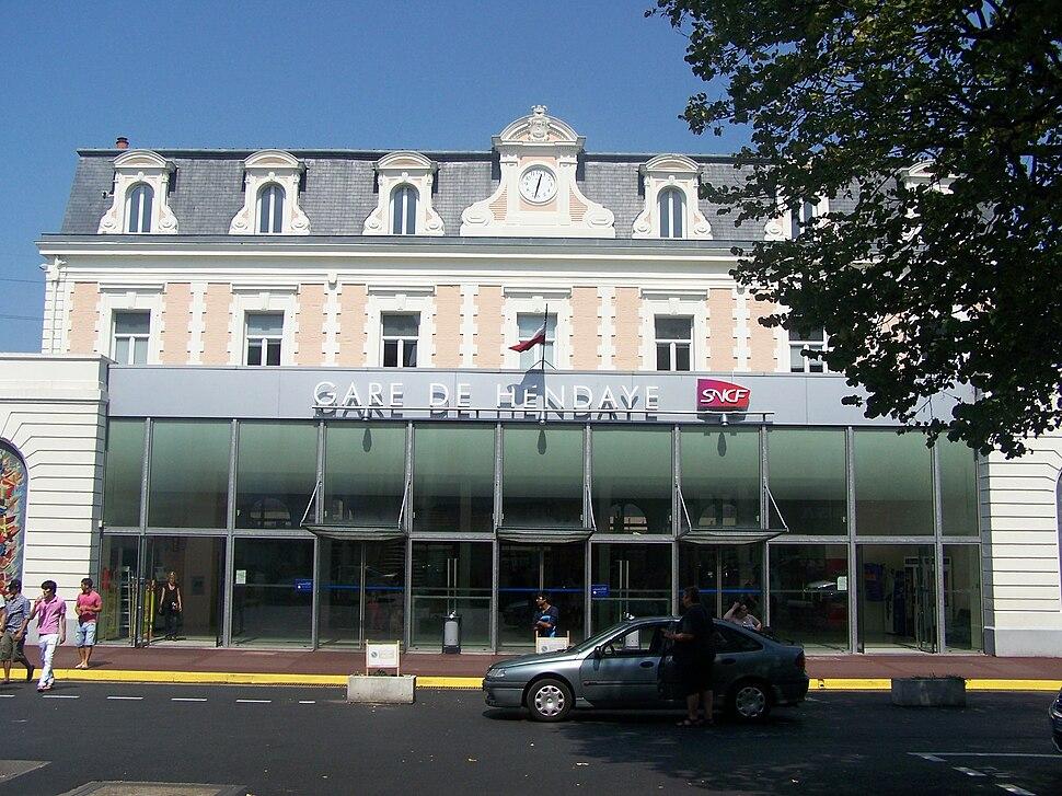 Gare d'Hendaye (64)