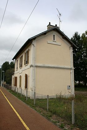 La gare de Chantenay-Saint-Imbert.