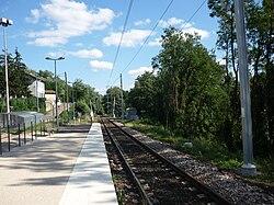 La gare de La Tour-de-Salvagny.