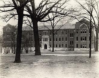 Landon Garland - Garland Hall on the campus of Vanderbilt University