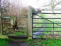 Gate and Public Footpath - geograph.org.uk - 637484.jpg