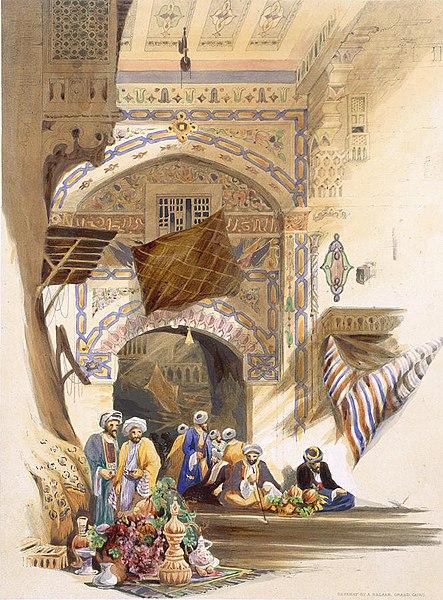 Historical photo of Istanbul Grand Bazaar