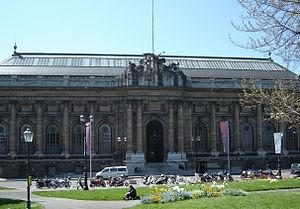 Musée d'Art et d'Histoire (Geneva) - Main façade of the Musée d'Art et d'Histoire.