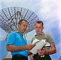 Gemini 4 McDivitt and White with training plans.jpg