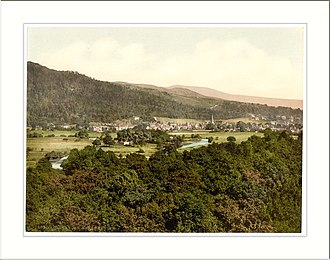 Callander - Image: General view Callander Scotland