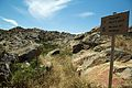 Geometric cemetery near Chimaros, Naxos, path, 143733.jpg