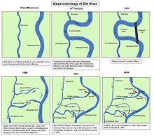 Mississippi River Wikipedia - Us map showing mississippi river