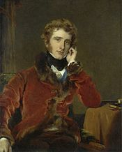 George James Welbore Agar-Ellis, later 1st Lord Dover by Thomas Lawrence (1823).jpg