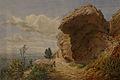 Georges Osterwald-Vue du rocher du Dabo.jpg