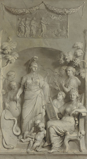 Gerard de Lairesse - Gerard de Lairesse, Allegory of sciences