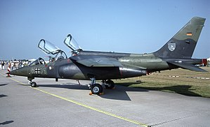 German Air Force - An Alpha Jet A in 1996