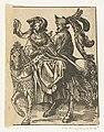 Gertruida van Saksen en Robrecht I de Fries De Graven en Gravinnen van Holland (serietitel), RP-P-OB-2261.jpg