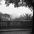 Gezicht vanaf Pincio op de zonsondergang met in het midden de Sint-Pietersbasili, Bestanddeelnr 254-5549.jpg