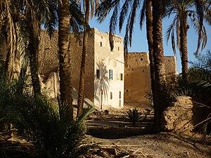 Ghadames - Image: Ghadames Altstadt mit Palmenhain