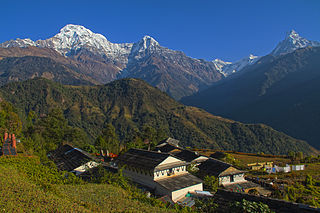 Ghandruk Village Development Committee in Gandaki Province, Nepal