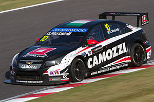 Gianni Morbidelli - Morbidelli competing in the 2014 World Touring Car Championship