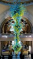 Giant glass pendant in the V ^ A reception hall - geograph.org.uk - 2282931.jpg