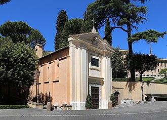 Santo Stefano degli Abissini - Image: Giardini vaticani, chiesa di santo stefano degli abissini, 01