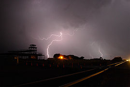 Gila Valley Temple lightning by Dale & Janice Holladay.jpg