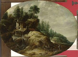 Gillis Peeters the Elder - Image: Gillis Peeters (I) Landscape with Watermill