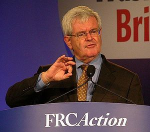 Newt Gingrich in 2007 in Washington, DC at the...