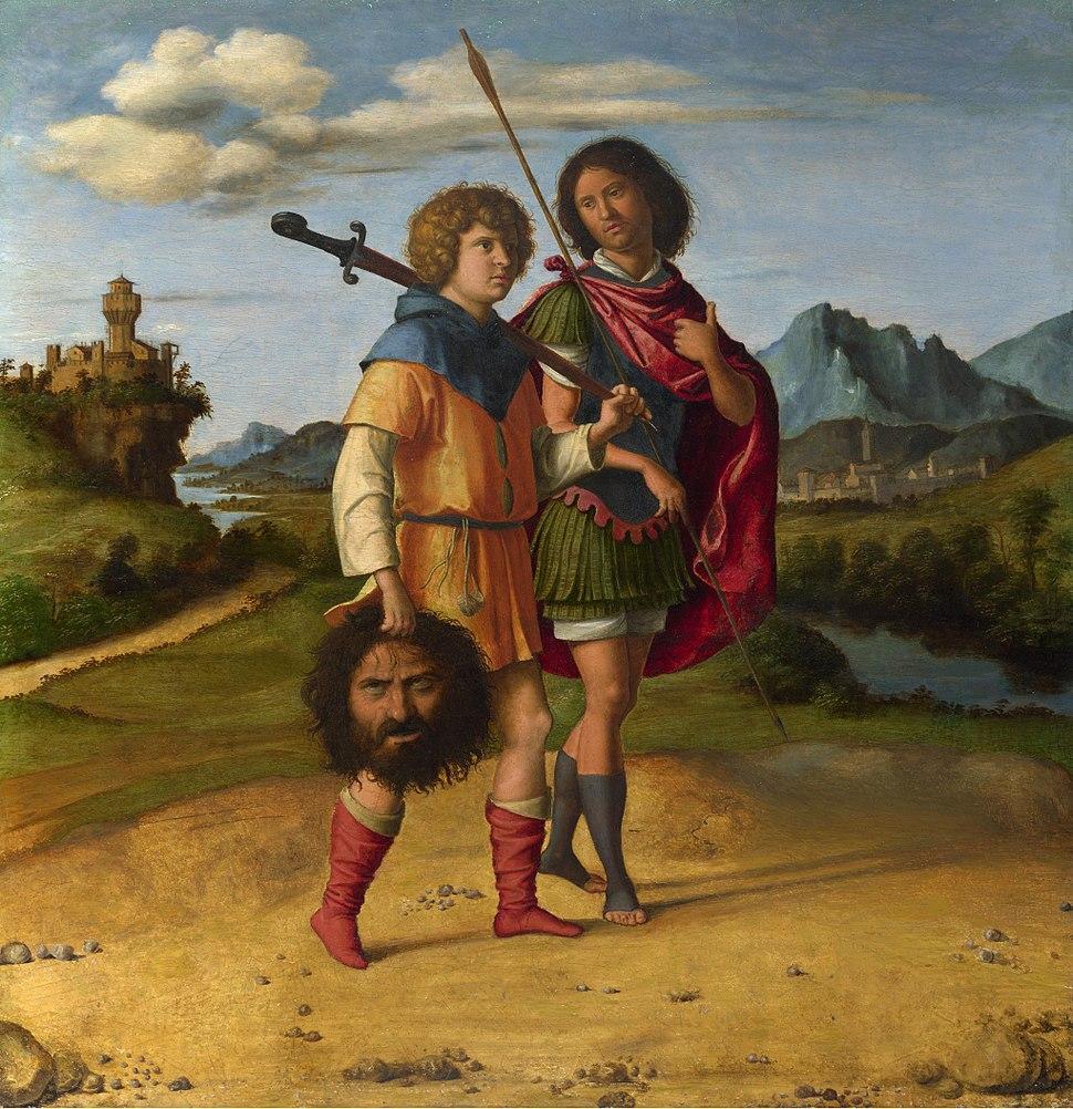 Giovanni Battista Cima da Conegliano - Davide e Gionata