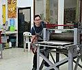 Giovanni Gil in his engraving workshop.jpg