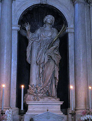 Santa Bibiana by Giovanni Lorenzo Bernini at C...