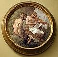 Giovanni da san giovanni, Storie mitologiche e veterotestamentarie, 1634-1635 circa, affresco su stuoia di giunco, apollo e marsia.jpg