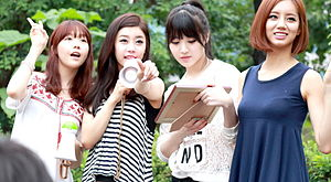 Girl's Day - At a fan meeting in 2013